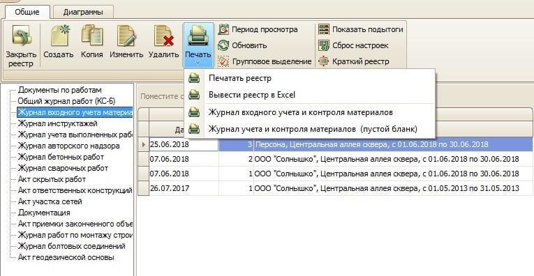 Программа ИТД