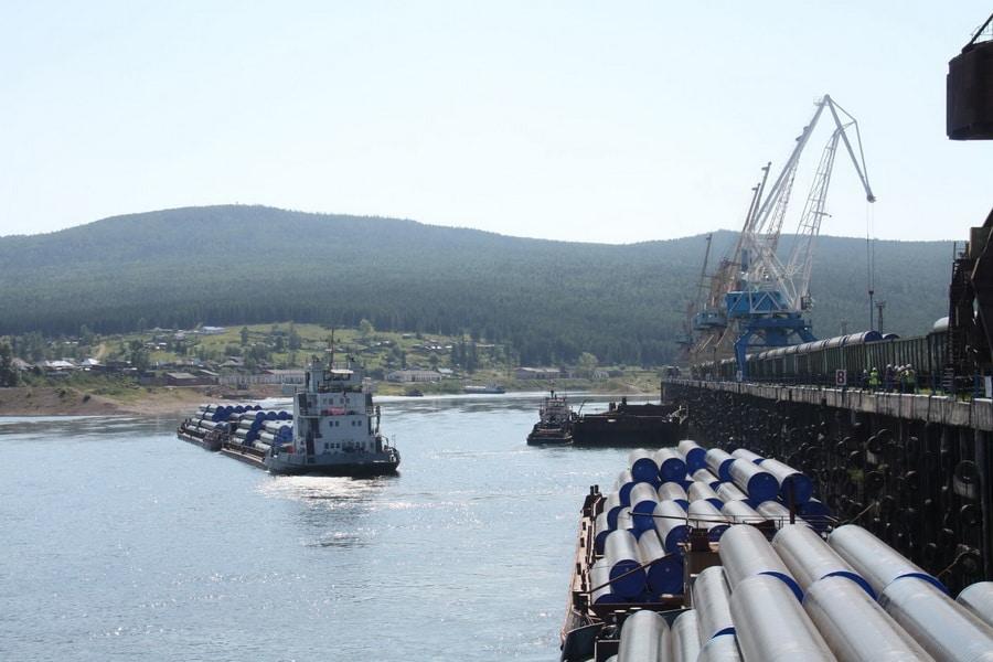 Перевозка труб водным транспортом